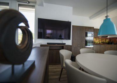 Küchenzeile Penthouse_Boutiquehotel_Wörthersee