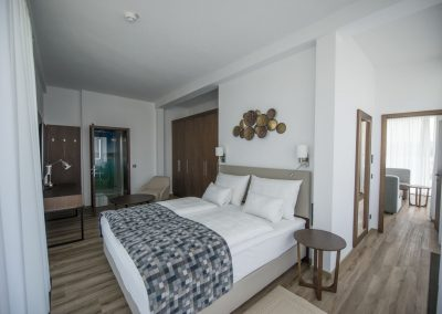 Schlafzimmer Penthouse_Boutiquehotel_Wörthersee