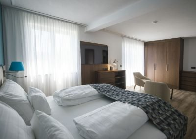 Doppelzimmer mit Balkon_Boutiquehotel_Wörthersee