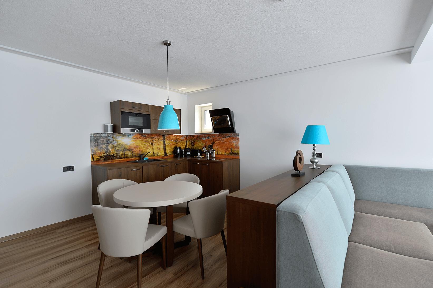 Küchenzeile_Suite_Appartement_Boutiquehotel_Wörthersee