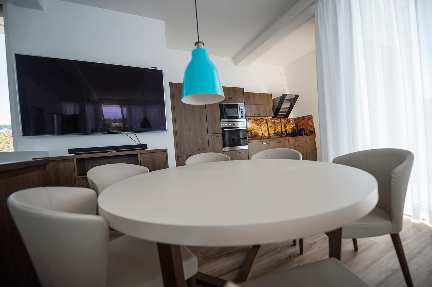 voll ausgestattete Küchenzeile_Penthouse_Boutiquehotel_Wörthersee