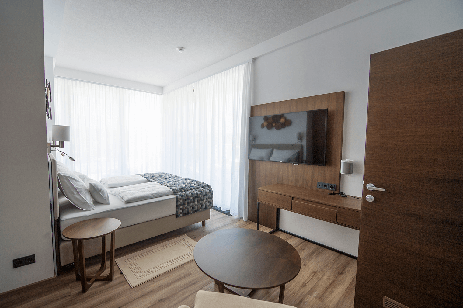 Schlafzimmer_Penthouse_Boutiquehotel_Wörthersee
