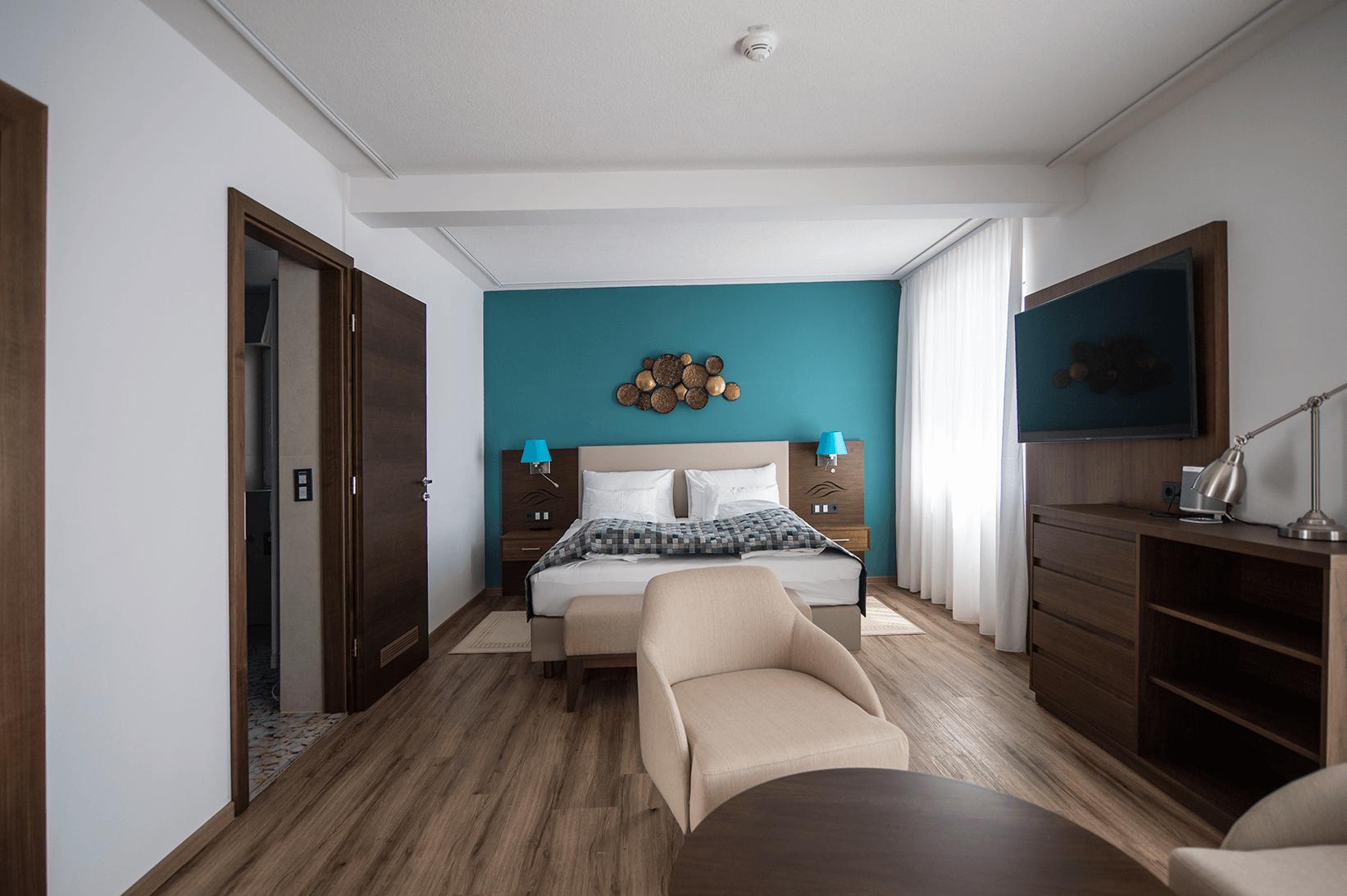 Doppelzimmer_mit_Balkon_Boutiquehotel_Wörthersee
