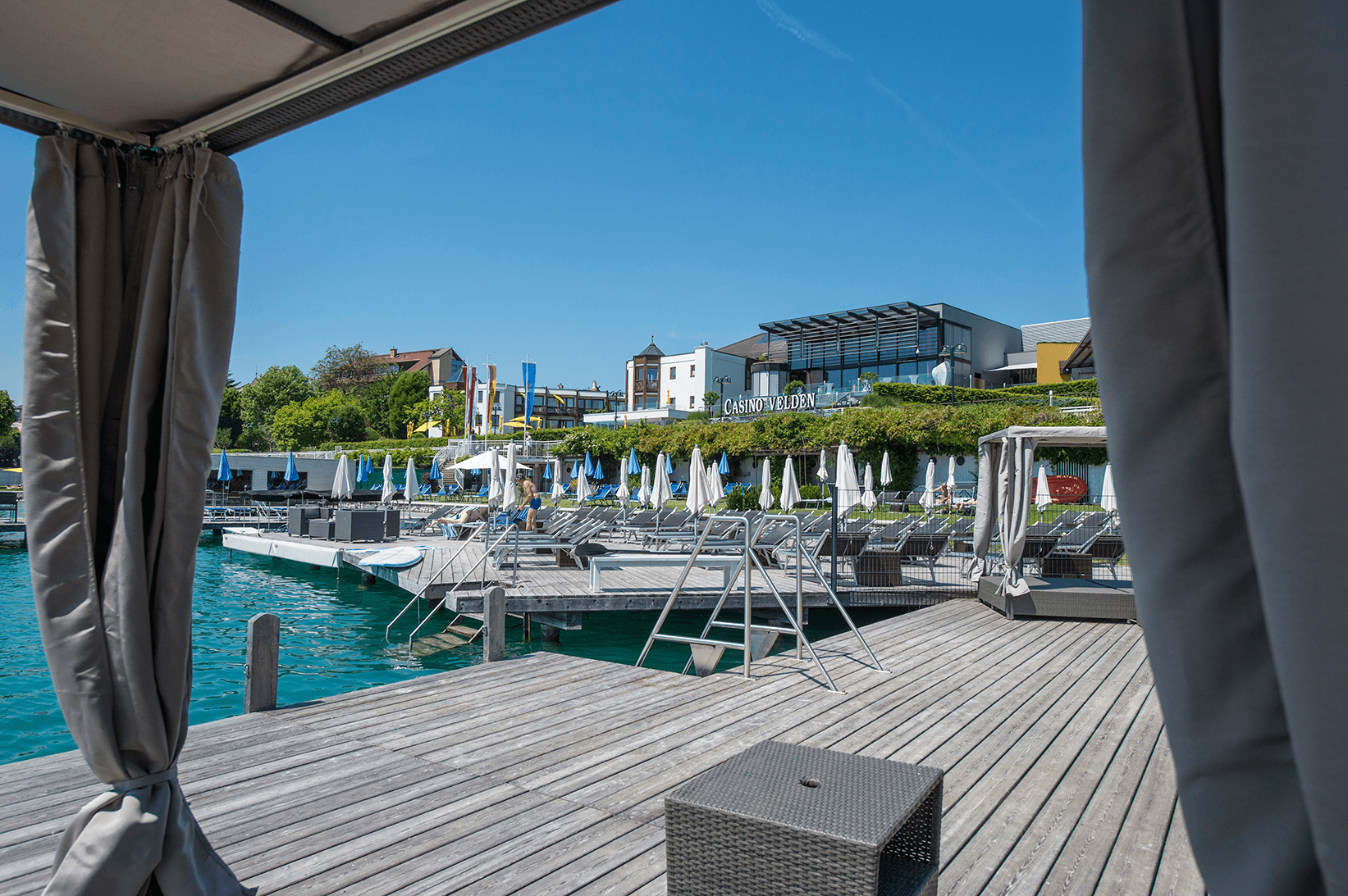 Privater Strandzugang_Beach_Boutiquehotel_Wörthersee
